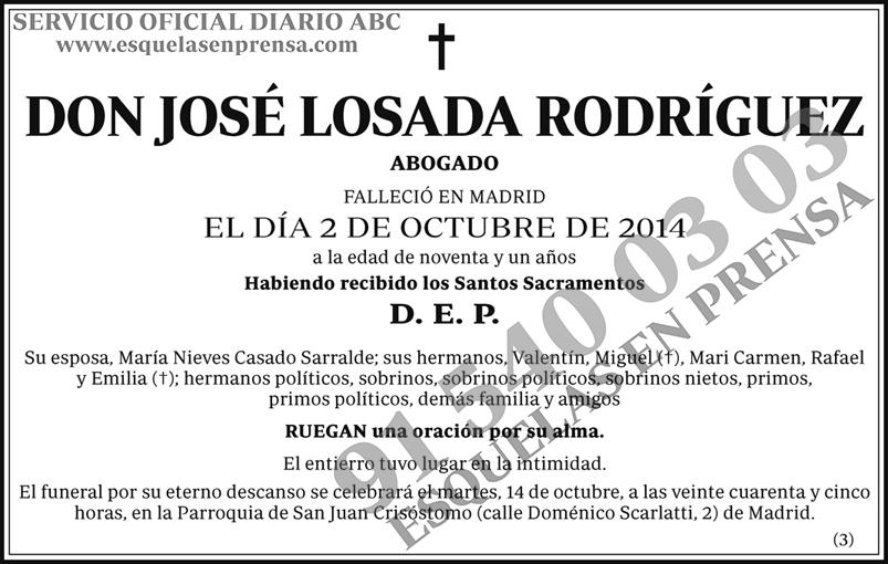 José Losada Rodríguez